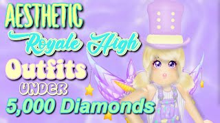 ROBLOX ROYALE HIGH Aesthetic Outfits (Under 5k Diamonds)