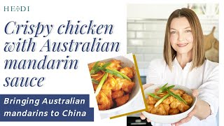 Bringing Australian mandarins to China