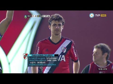 El regreso de Pablo Aimar a River Plate - 31/05/2015