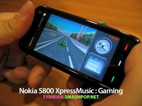 nokia 5800 xpressmusic gaming youtube. Black Bedroom Furniture Sets. Home Design Ideas