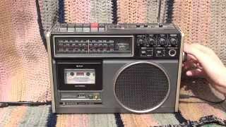Sanyo M 9600NM oprava a test radiomagnetofonu [HD 2014]