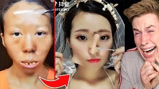 ASIATISCHE MAKE-UP TRANSFORMATIONEN 😱😳