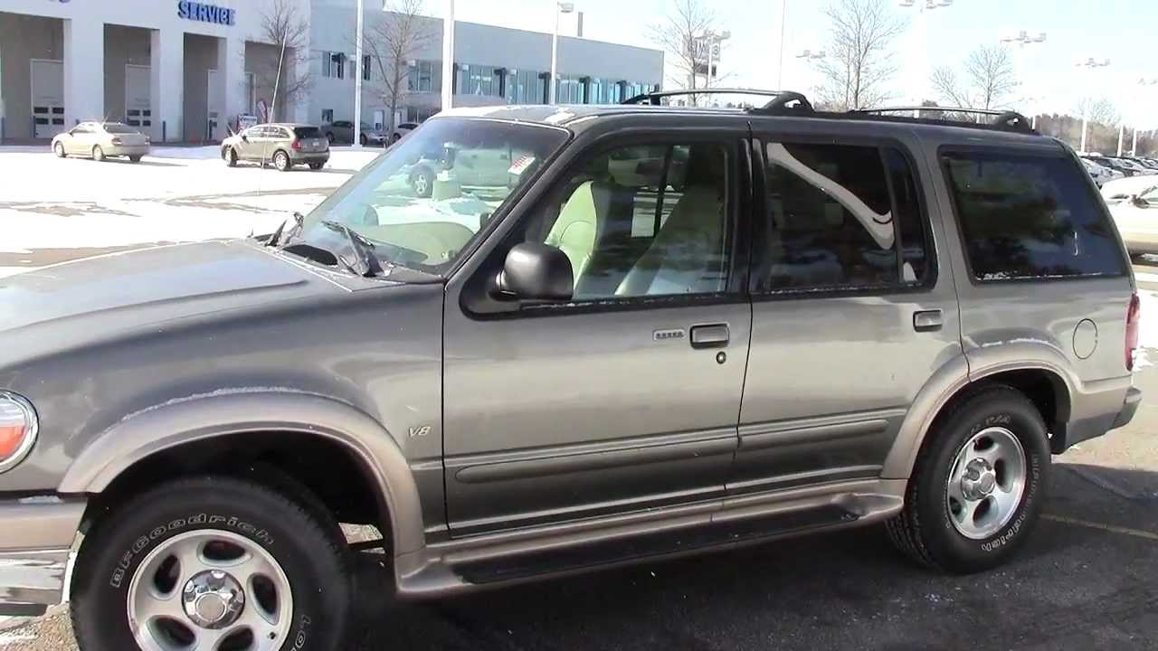 2000 ford explorer eddie bauer edition youtube. Black Bedroom Furniture Sets. Home Design Ideas