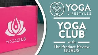 Yoga Club Unboxing & Review | Get 20% Off First Box!