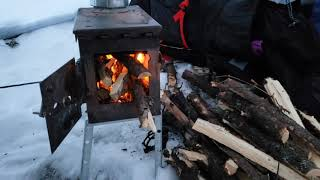 2019 Winter Camping iฑ Northern MN - -34f