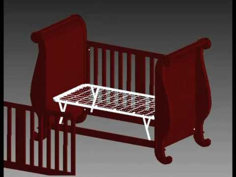 Jardine Toddler Bed Assembly Instructions