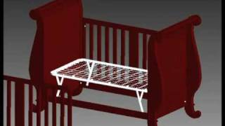 Bratt Decor Assembly Video - Chelsea Sleigh Crib