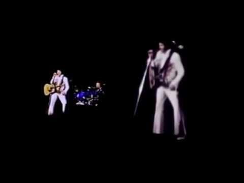 Elvis Presley in concert - june 19, 1977 Omaha the last concert