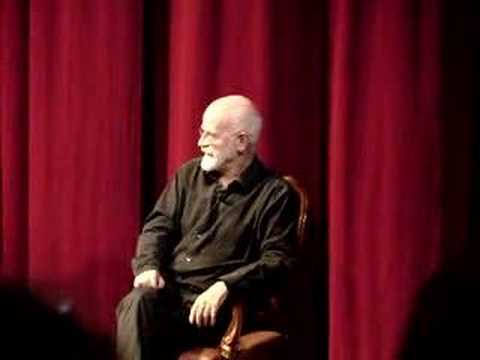 Terry Pratchett tells a dirty joke