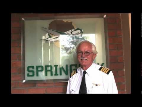 Dakota Lodge Hotel, Rand Airport, South Africa interview with Captain Flippie Vermuelen