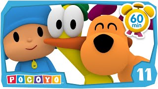 💑 Pocoyo In English   Friends Forever [ 60 Minutes ] | Full Episodes | Videos And Cartoons For Kids