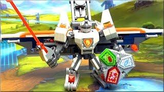 Лего Нексо Найтс 70366 Боевые доспехи Ланса - Новинка 2017 LEGO Nexo Knights Battle Suit Lance