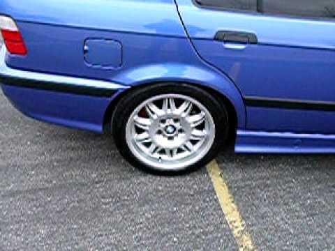 98 Estoril Blue e36 M3 4dr sedan for sale part 1 - YouTube