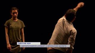 Yvelines   Théâtre SQY : L'artiste Fabrice Lambert a dévoilé ses secrets