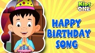 Happy Birthday ||  Nursery Rhymes  ||  English Animated Rhymes