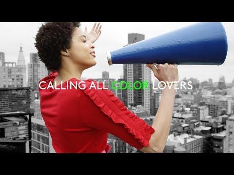 HUE #ChooseColor Campaign Fall 2017