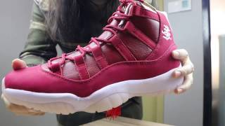 "Authentic Air Jordan 11 ""Chinese New Year"" Repyes.cn"