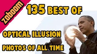 135 best optical illusion photo compilation. Longest one ever made!