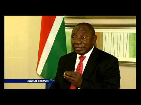Ramaphosa on SA's nuclear plant deal