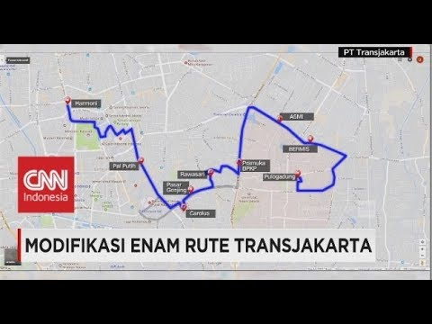 Sikapi Molornya Sejumlah Proyek, Pemprov DKI Modifikasi Rute TransJakarta