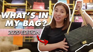 WHAT'S IN MY BAG 2020 ( Chanel Reissue Jumbo Bag )