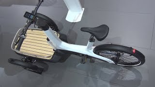 Volkswagen Cargo e-Bike (2019) Exterior and Interior