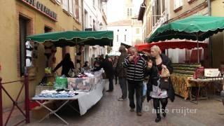 Frankrijk, Region Midi-Pyrénées La Haute-Garonne FRANCE,  le marché de Samatan
