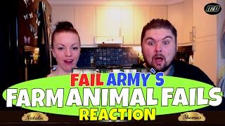 Fail Army`s Hilarious Farm Animal Fails (January 2017) REACTION