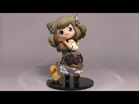 Final Fantasy XIV - Khloe Aliapoh - Figure Unboxing