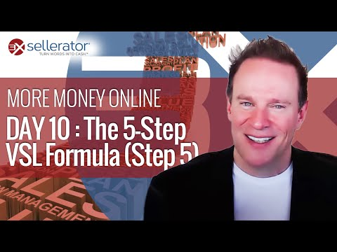 Day 10: The VSL Formula, Step 5 (The Grand Offer; The Ultimate Close!)