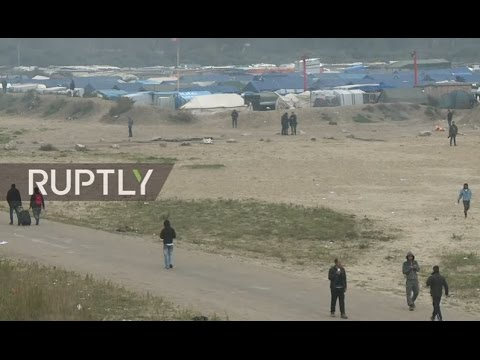 LIVE from Calais refugee camp as dismantling order issued