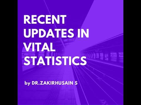 Recent updates in Vital Statistics (India)