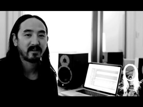 """Steve Aoki showing a teaser of """"Earthquakey People"""" ft Rivers Cuomo"""