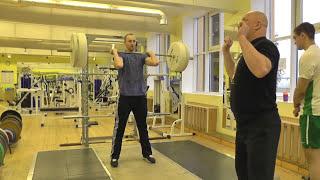 """#Тяжелаяатлетика"""" Изучение техники толчка"""" Weightlifting"""