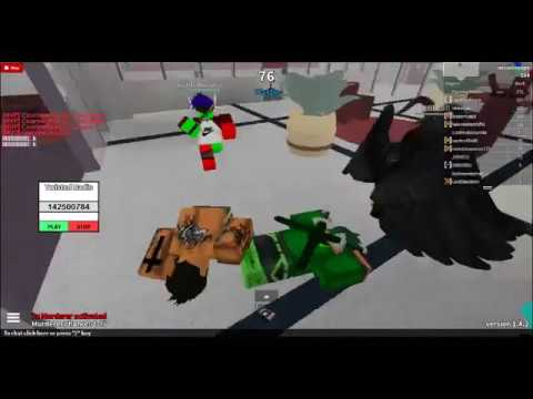 Roblox-Hacker Caught playing twisted murder with god mode and fly!