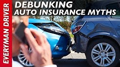 Here are 9 Auto Insurance Myths on Everyman Driver