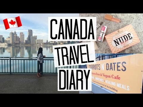 Detroit to Windsor + Canadian Beauty Haul   Travel Diary