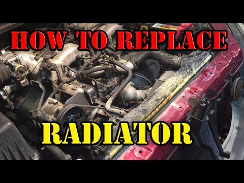 How to Replace Radiator – Kia Sorento (2003-2006)