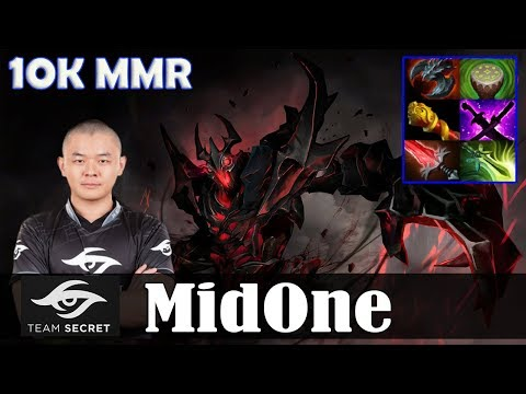 MidOne - Shadow Fiend MID | 10K MMR | 7.07 Update Patch Dota 2 Pro MMR  Gameplay