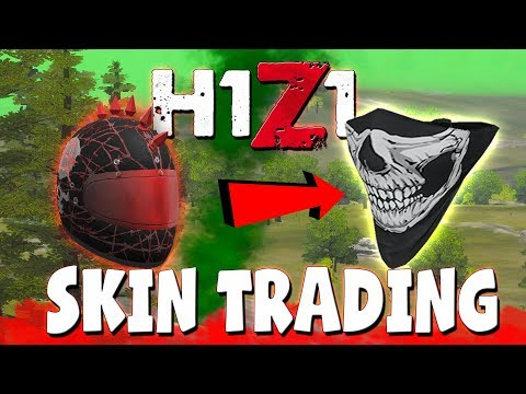 BEST H1Z1 TRADING SITE!! Trade Skins Easily (H1Z1 Swap)