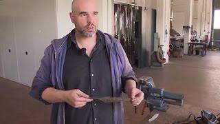 Hildesheimer erfindet Färbe-Technik für Damaszener-Messer