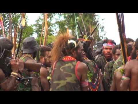 TPNPB Yambi Puncakjaya Papua Acara Pengumuman Ultimatum Perang Dan Penyerahan SK KODAP
