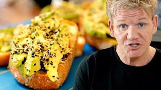 Gordon Ramsay's Avocado Toast