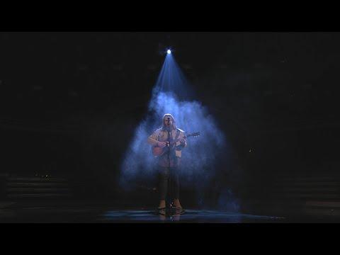 Chris Kläfford sjunger What happened to us i Idol 2018 - Idol Sverige (TV4)
