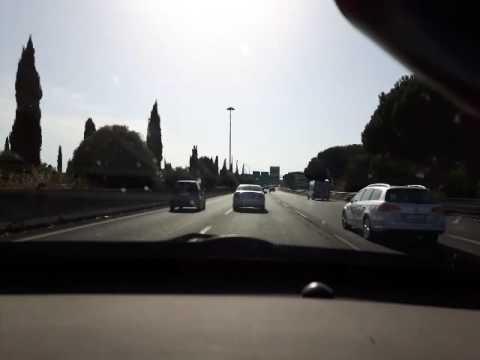 ASMR car ride vol.1 Rome to Cerveteri