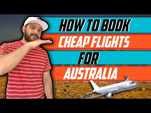 How To Book Cheap Flights For Australia