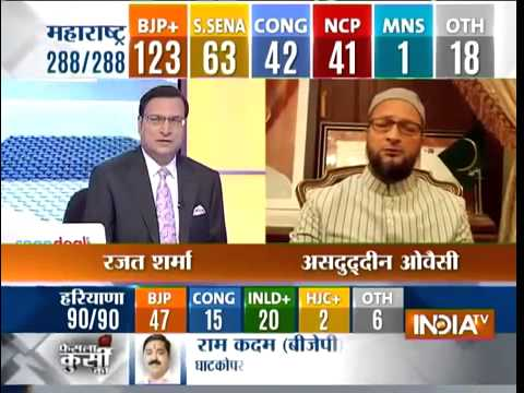 Asaduddin Owaisi interview INDIA tv