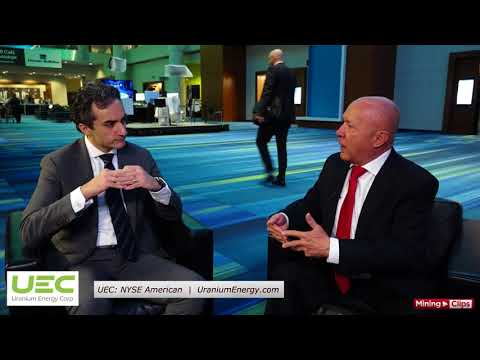 CEO Interview Series, PDAC 2018 in Toronto, Mickey Fulp with UEC's Amir Adnani