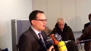 Gerichtssprecher Dr. Johannes Hidding zum Haftbefehl von Dr. Thomas Middelhoff!