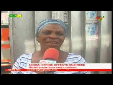 Accra: Strike Affects Business